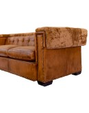 mountain modern style leather sofa