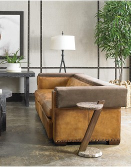 Manhattan Sofa w/ Suede