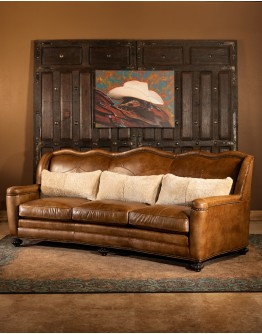 Maverick Washburn Leather Sofa