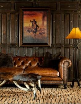Sauvage Dark Chesterfield Sofa