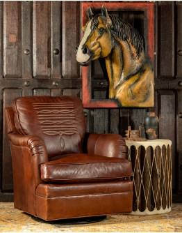 Boot Stitch Sauvage Swivel Glider