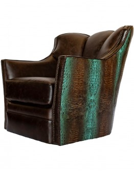 Puma Nile Croc Swivel Glide Chair