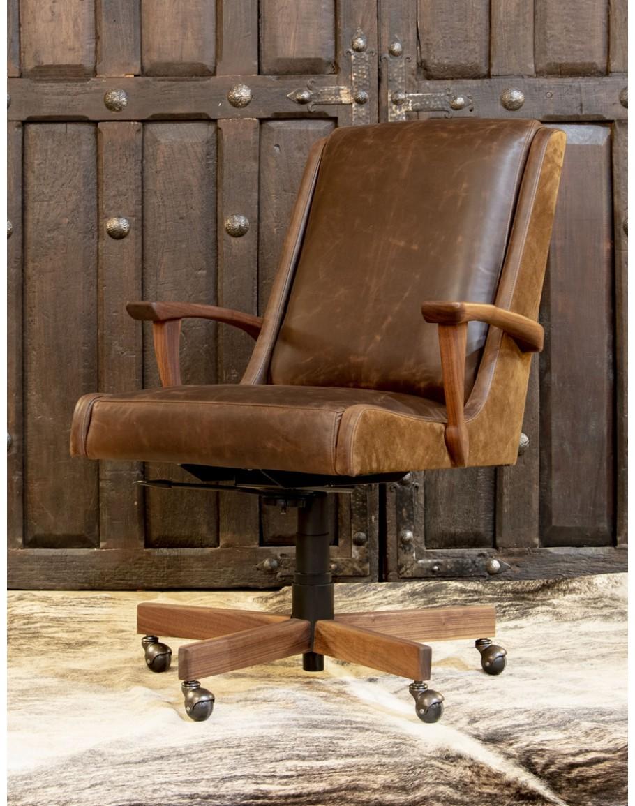 Braxton Desk Chair Adobe Interiors