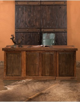 Reclaimed Wood Executive Desk