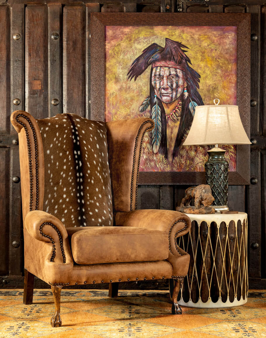Rustic Accent Chairs that Make an Impact  Adobe Interiors